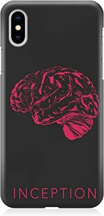 Loud Universe Movie Art Poster Inception iPhone XS Max Case Brain Architect iPhone XS Max Cover with 3d Wrap around Edges