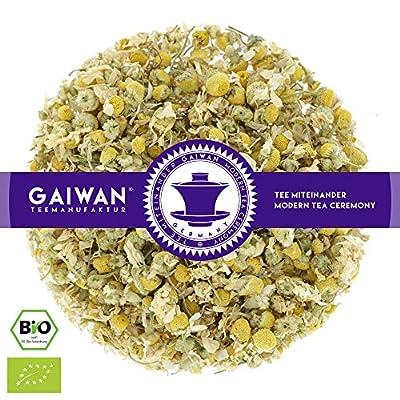"""N° 1428: Thé aux herbes bio""""Fleurs de camomille"""" - feuilles de thé issu de l'agriculture biologique - GAIWAN GERMANY - camomille de Allemagne"""