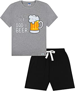 Men's 'Someone Get Dad A Beer' Short Pyjamas