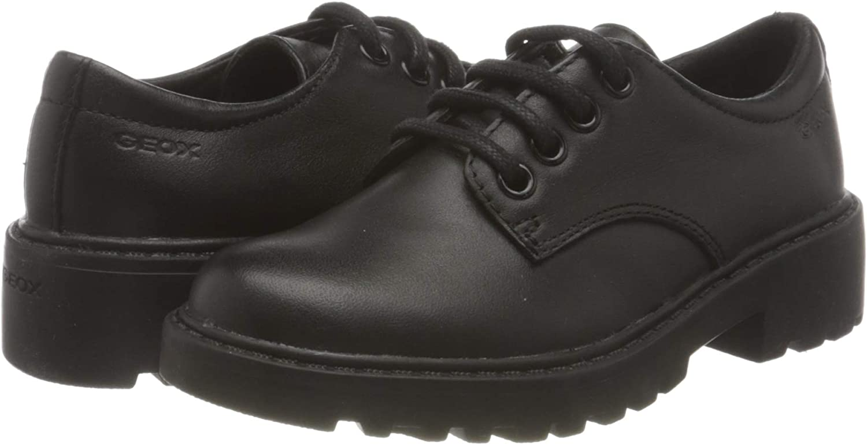 Geox Girls J Casey C School Uniform Shoe