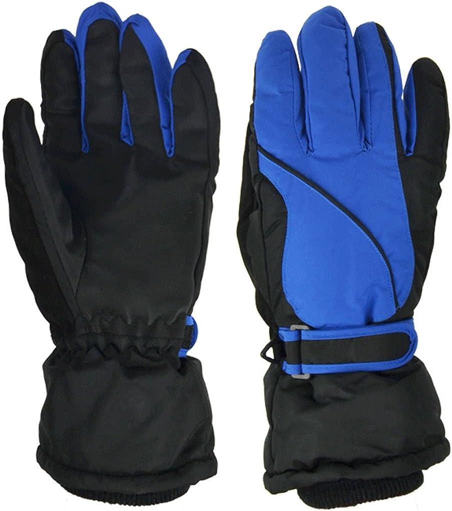 Thick Warm Men Winter Ski Gloves Thermal Outdoor Sports Snow Gloves Ski Mittens