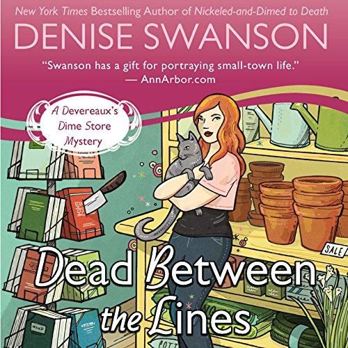 Dead Between the Lines audiobook cover art