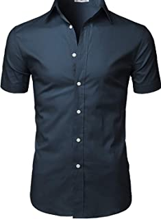 LIBAS TAILOR ROYYD Mens Cotton Casual Tailored Fit Half Sleeves Shirt