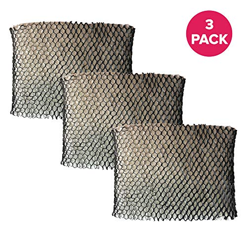 Crucial Air Replacement Humidifier Wick Air Filter Compatible with Holmes Part # HWF64,HWF-64 & Models HM1761,HM1645,HM1730,HM1745,HM1746 (3 Pack)