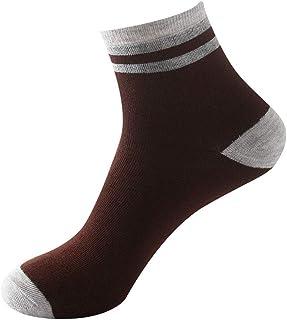 ZEZKT, calcetines para hombre, calcetines de algodón para hombre calcetines estampados hombre, calcetines verano khaki, negro, rosa, gris, azul calcetines modernos originales y deportivos hombre