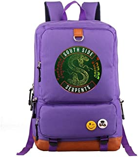 Asdfnfa Backpack, Men and Women Casual Film and Television Travel Knapsack Youth Computer Bag Student Schoolbags (Color : ...