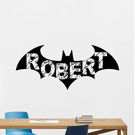 Batman Wings Home Decoration Wall Art Sticker For Kids Rooms Vinyl Bedroom