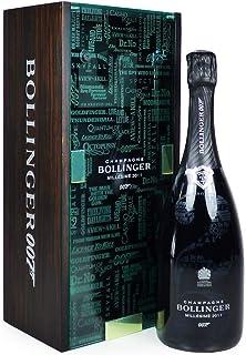 Bollinger 007 Millesime Champagne 75cl in limitierter Auflage in atemberaubender Aufbewahrungsbox - Ideen für Geburtstag, Jubiläum, Geschäft und Unternehmen