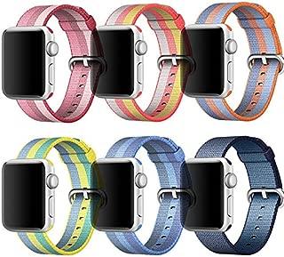ocamo Watch Band for Apple、スポーツナイロン交換用ストラップ手首バンドfor Apple Watch 1/ 238mm / 42mm USdz-170907-zjl448