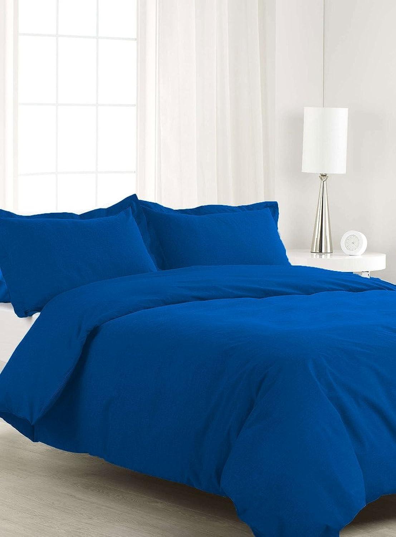 compra en línea hoy SCALABEDDING algodón egipcio de 400TC 500% 1pieza Funda Funda Funda de edrojoón full Queen Talla sólido egipcio azul  presentando toda la última moda de la calle
