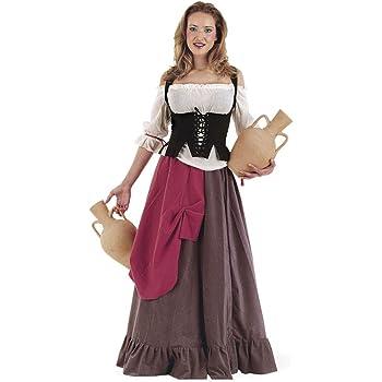 Lima - Disfraz de campesina para mujer, talla M (MA516): Amazon.es ...