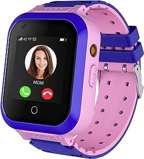 Kids Smart Watch, 4G WiFi GPS LBS Tracker SOS Emergency Call Video Chat Children Smartwatches, IP67 Waterproof Phone Watch...