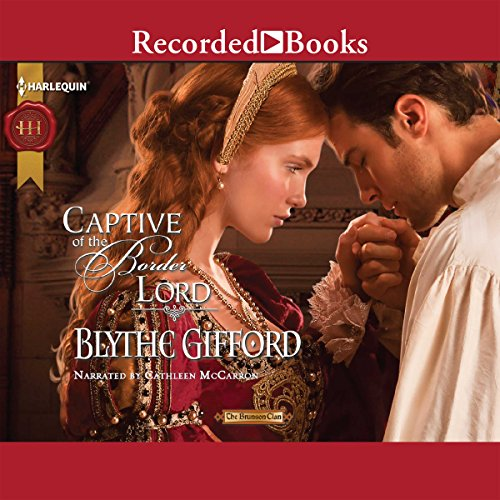 Captive of the Border Lord audiobook cover art