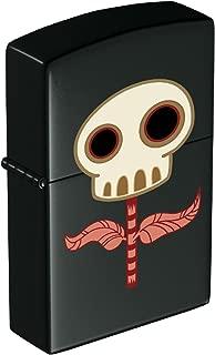 Tara McPherson Zippo Lighter: Skull Flower