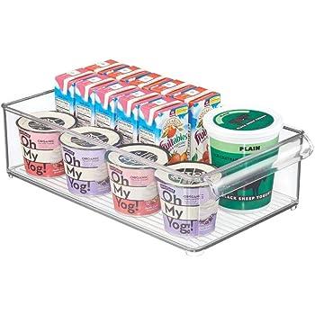 mDesign Caja organizadora para almacenaje – Organizador de ...
