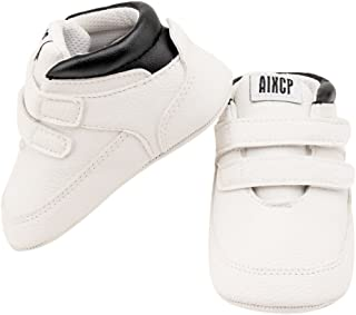 Logobeing Zapatos De Beb/é Botines Zapatillas Deportivas para Beb/és Reci/én Nacidos Primeros Pasos Zapato de Cuero Antideslizante Inferior Suave Infantil para Ni/ños Peque/ños