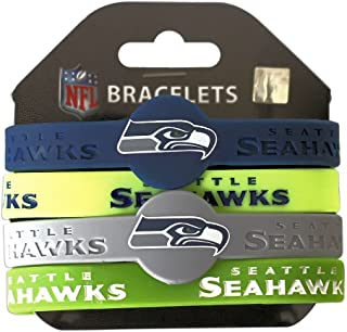 seahawks silicone wristbands