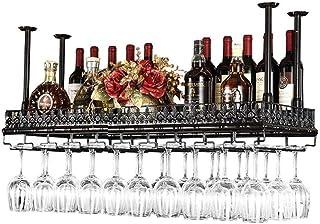 YZ-YUAN Porte-Verre à vin de Haute qualité Porte-vin en métal Porte-vin en métal Étagère de Rangement à vin - Casiers à vi...
