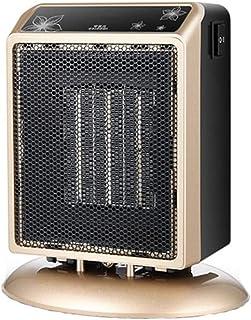 Moolo Calefactor De Ventilador, Radiadores Portátiles Calentador De Cerámica PTC con 2 Configuraciones De Calor Sobrecalentar Volcar Protección 900W