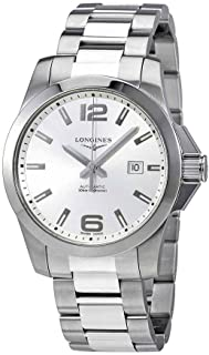 Longines Conquest 43MM Automatic Stainless Steel Silver Dial Men's L3.778.4.76.6