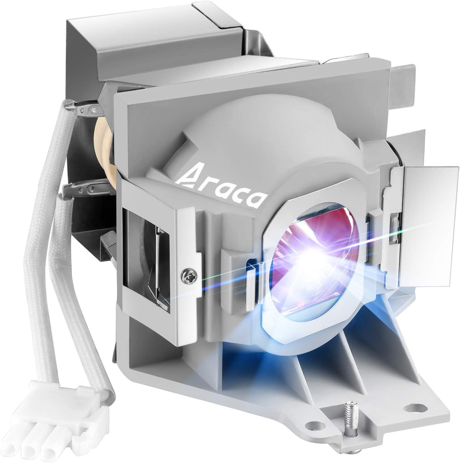 Araca 5J.JEE05.001 (OEM Original Bulb) Projector Lamp with Housing for Benq HT2050 HT2150ST HT2050A HT3050 W1110 W1210ST W2000 W2000+ Replacement Lamp