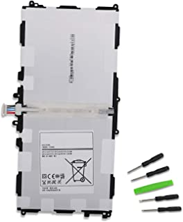DAMZON 3.8V 8220mAh T8220E Replacement Tablet Battery for Samsung Galaxy Note SM-P600 SM-P601 SM-P605 SM-P605V SM-P607T SM-T520 SM-T525 Series Compatible with T8200K T8220U T8220C