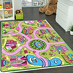 Kids Rug ABC Blocks Area Rug