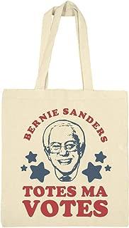 Bernie Sanders Votes Tote: Canvas Bargain Tote Bag