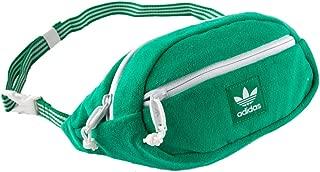 ADIDAS Originals Terry Waist Green Fanny Pack, Green
