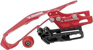 TM Designworks Dirt Cross Chain Slider Red for Honda CR CRF