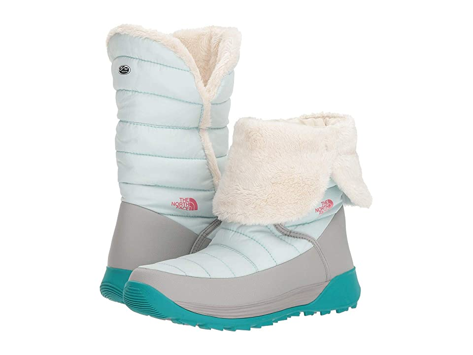 The North Face Kids Amore II (Toddler/Little Kid/Big Kid) (Shiny Icee Blue/Foil Grey) Girls Shoes