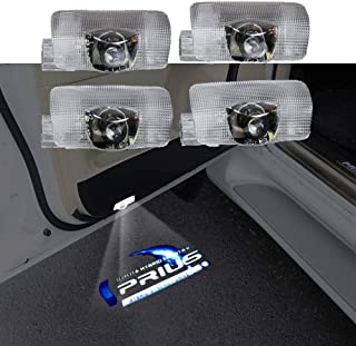 Prius 30 カーテシ カーテシライト ドアウェルカムライト カーテシランプ レーザーロゴライト LEDロゴ投影 50系 30系 トヨタ プリウス 4個セット 車用 カーテシ