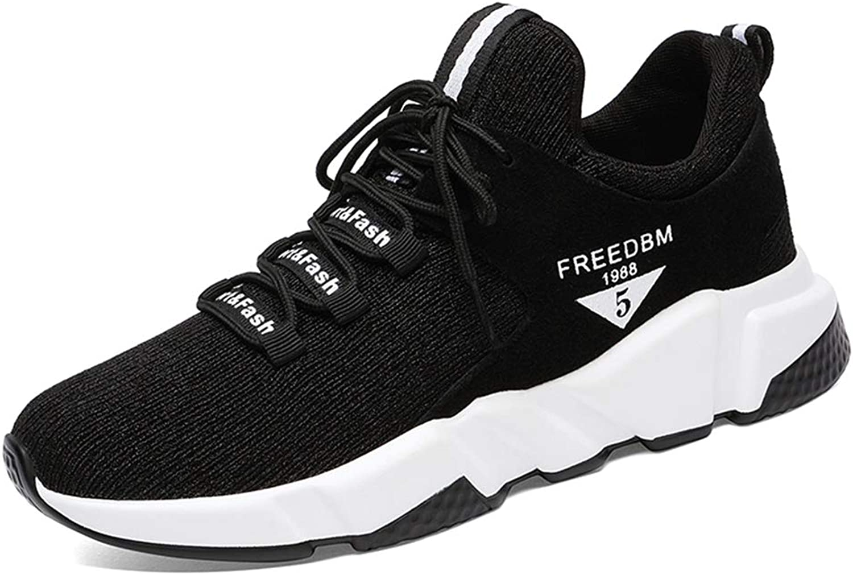 Zarbrina Women's Slip on Pull Running Fashion Sneakers Round Toe Hidden Heel Anti-Slip Increased Height shoes