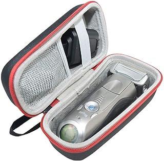 حقيبة سفر صلبة لماكينة الحلاقة براون سيريز 5 و7 و9 للرجال، تناسب ماكينة الحلاقة الكهربائية فويل طراز 790cc 7865cc 9290cc 9...