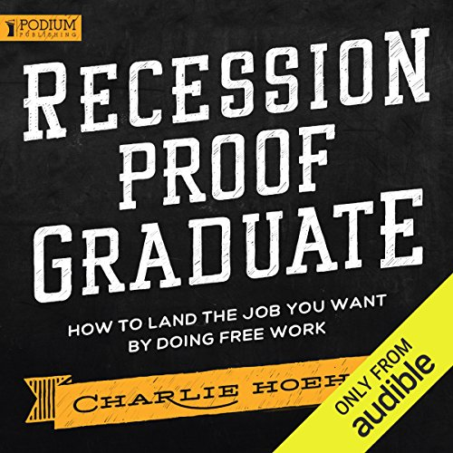 FREE Recession Proof Graduate audiobook cover art