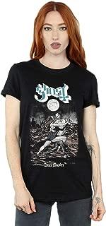 Ghost Women's Dance Macabre Cover Boyfriend Fit T-Shirt