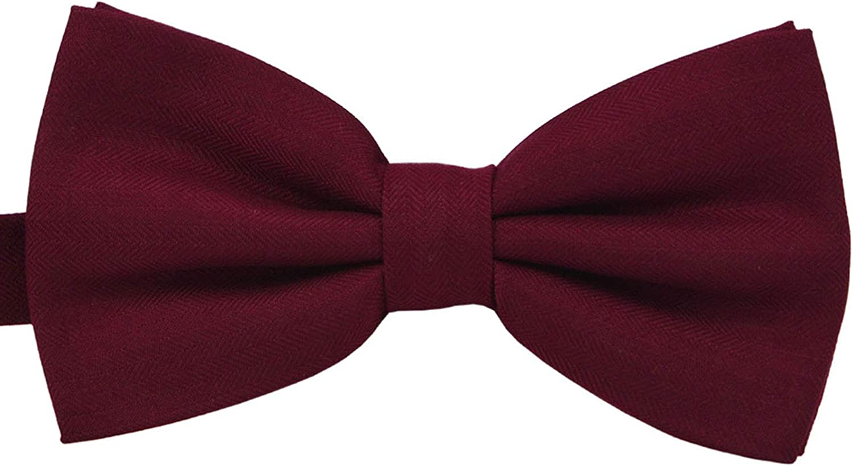 SISIDI Men's Cotton Pre-Tied Bow Adjustable Dallas Mall Bo Double Tie Layer New Shipping Free
