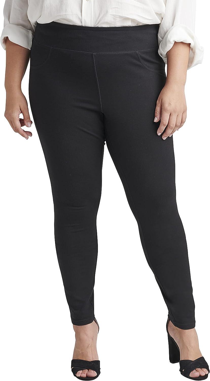 Jag Jeans Women's Plus Size Ricki Mid Rise Pull on Legging