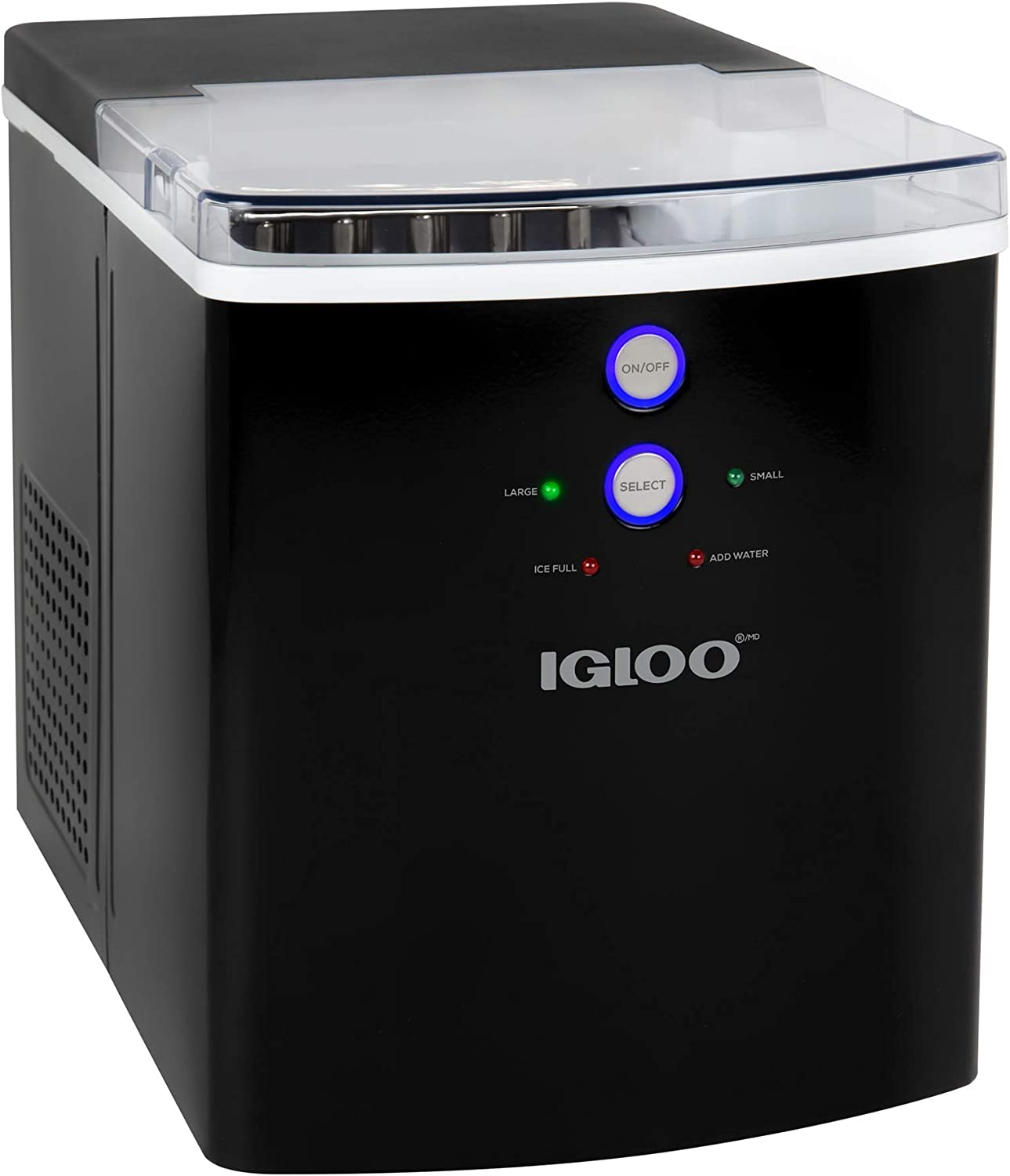 Igloo Large-Capacity Automatic Portable Electric Countertop Ice Maker Machine