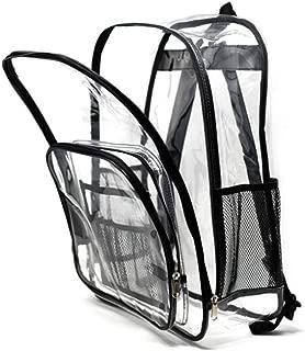 Fashion Transparent Student Bag Transparent Shoulder Bag Environmental Safety Visible Inner PVC backpack