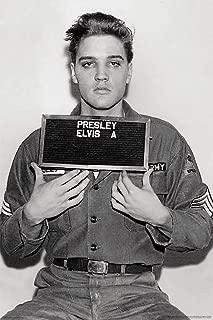 Elvis Presley-Enlistment Photo Poster Rolled 24 x 36  PSA009993