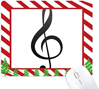 candy cane treble clef