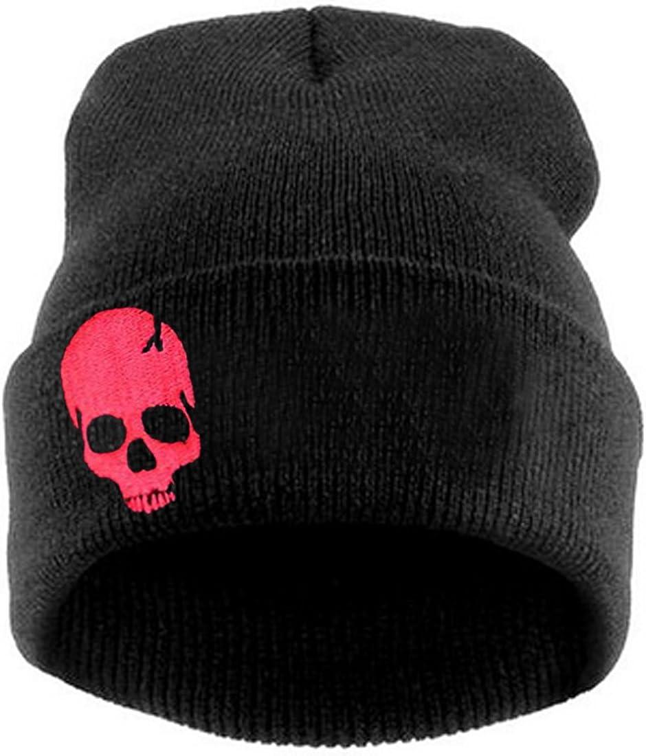 Thenice Women's Winter Wool Cap Hip hop Knitting Skull hat
