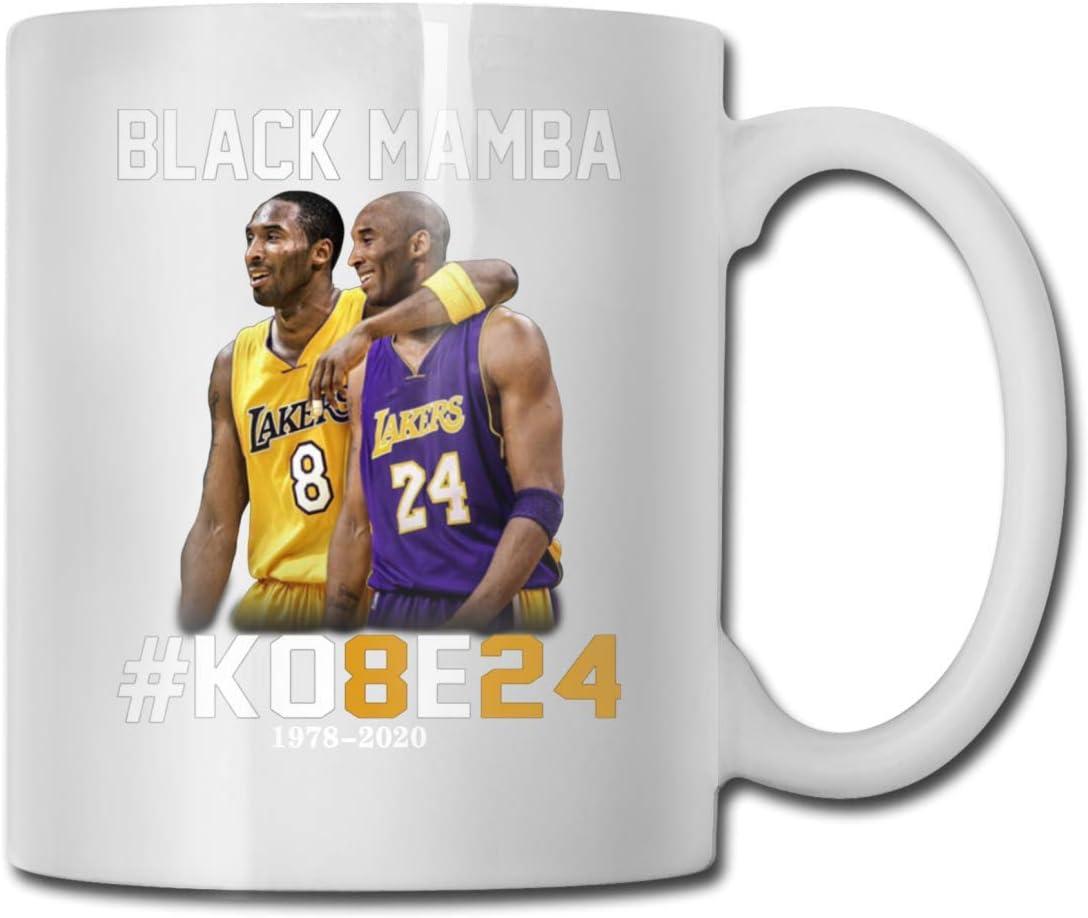 Lakers Black Mamba Kobe 24 White Coffee Mug