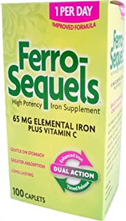 Ferro-Sequels 65 Mg 100 Caplets