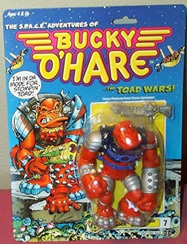Bucky O'Hare Bruiser the Berserker Baboon Action Figure by Bucky O'Hare