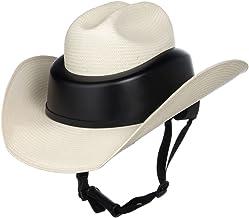 RESISTOL Mens Ridesafe Straw Cowboy Hat