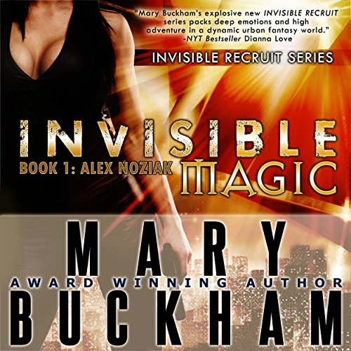 Invisible Magic audiobook cover art