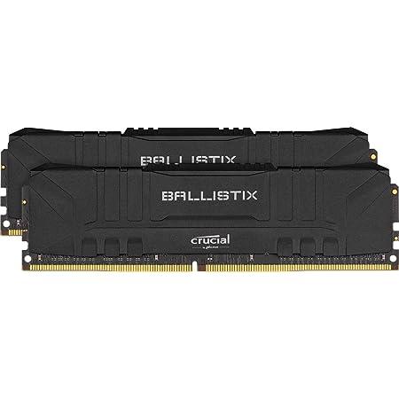 Crucial Ballistix BL2K8G32C16U4B 3200 MHz, DDR4, DRAM, Mémoire Kit pour PC de Gamer, 16Go (8Go x2), CL16, Noir