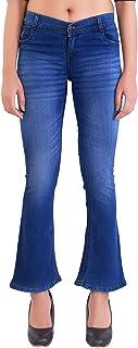 Raiter Flared Women Blue Denim Jeans(Size : 26 to 36)